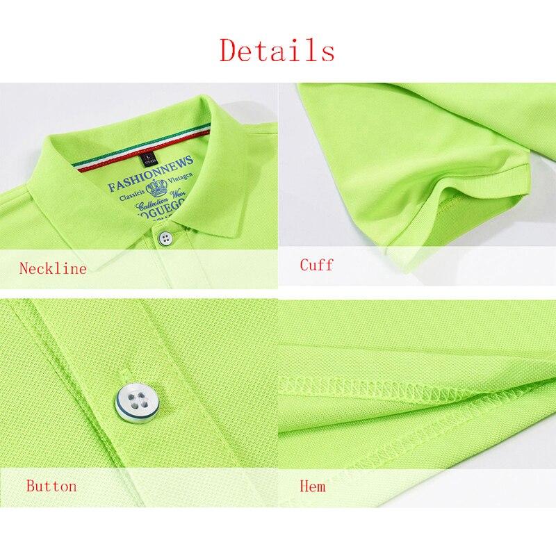 Men's Polo Shirt For Men Desiger Polos Men Cotton Short Sleeve Shirt Slim Breathable Clothes Jerseys Golftennis Plus Size S- 4XL 6