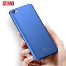 Чехол для Mi5 Msvii, матовый чехол для Xiaomi Mi 5 S Pro, чехол для Xiomi Mi5S, Mi5x, Жесткий Чехол из поликарбоната для Xiaomi Mi 5S, Mi5 S, чехлы для телефонов