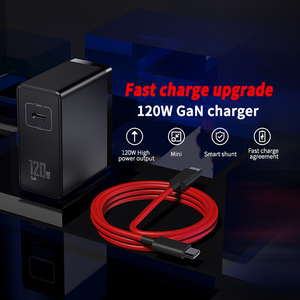 Image 2 - New Original Nubia 120W GaN Quick charger 120W GaN charger For Nubia RedMagic 6/6pro 120W Fast Charger With 6A Cable