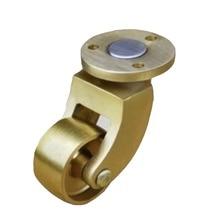 4pcs/Lot Brass Universal Caster Wheel Coffee Table Piano Heavy Round Caster Wheels-Wheel Diameter:25mm