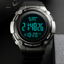 SKMEI Mens Watches New Fashion Casual Waterproof LED Digital