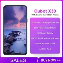 هاتف Cubot X30 الذكي الإصدار العالمي نظام تشغيل أندرويد 10 بخمس كاميرات 48 ميجا بيكسل 8 جيجا بايت 128 جيجا بايت/256 جيجا بايت بشاشة 6.4 بوصة كاملة الوضوح ...