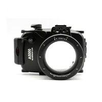 Mcoplus WP A5000 à prova dunderwater água subaquática habitação câmera caso de mergulho 40 m/130ft para sony a5000 câmera|Estojos para câmera/vídeo| |  -