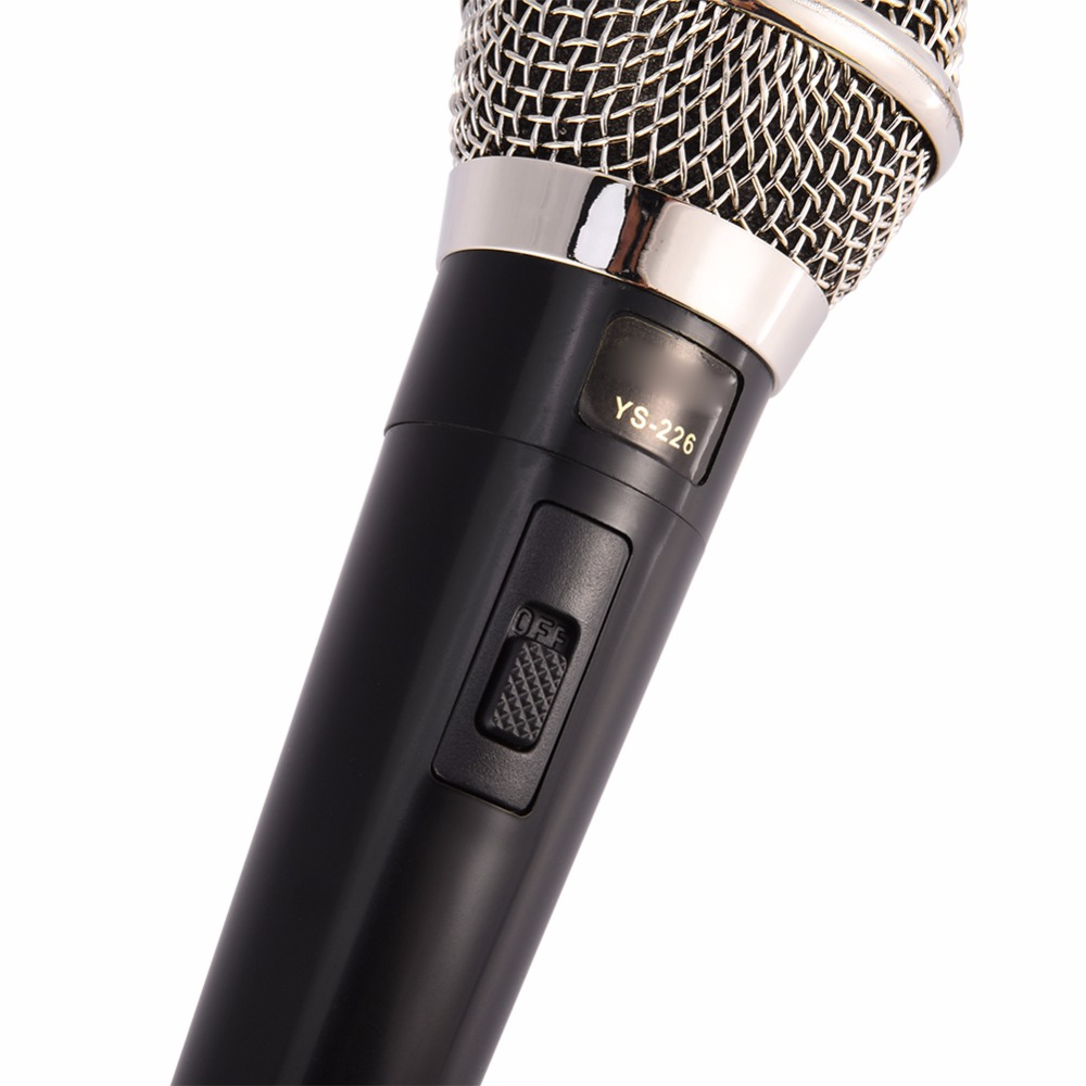 Karaoke Microphone Handheld Professional Wired Dynamic Microphone Clear Voice Mic for Karaoke Part Vocal Music Performance hot