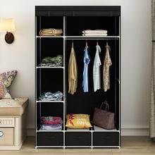 Modern Non-woven Cloth Wardrobe Baby Storage Cabinet with Dr