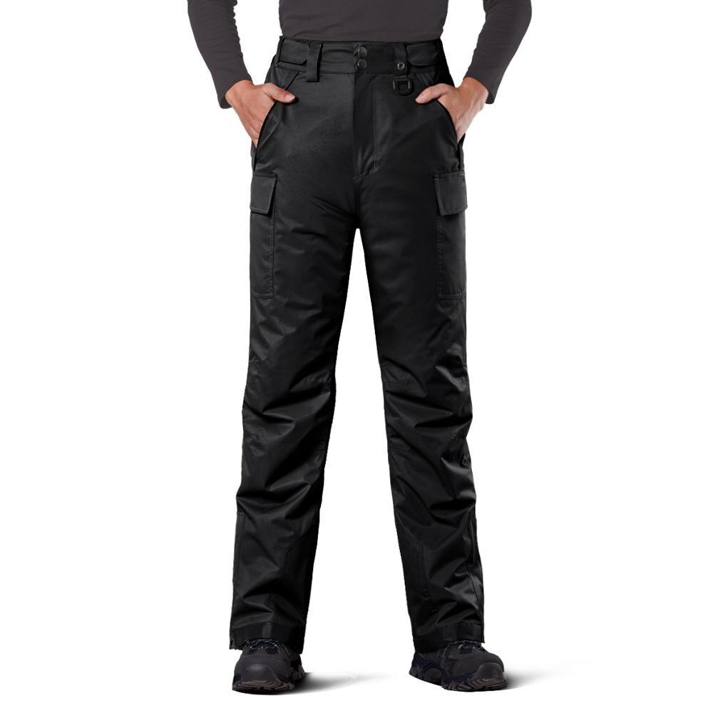 Мужские зимние лыжные брюки FREE SOLDIER, теплые ветрозащитные водонепроницаемые лыжные брюки, уличные зимние брюки|Горнолыжные штаны|   | АлиЭкспресс