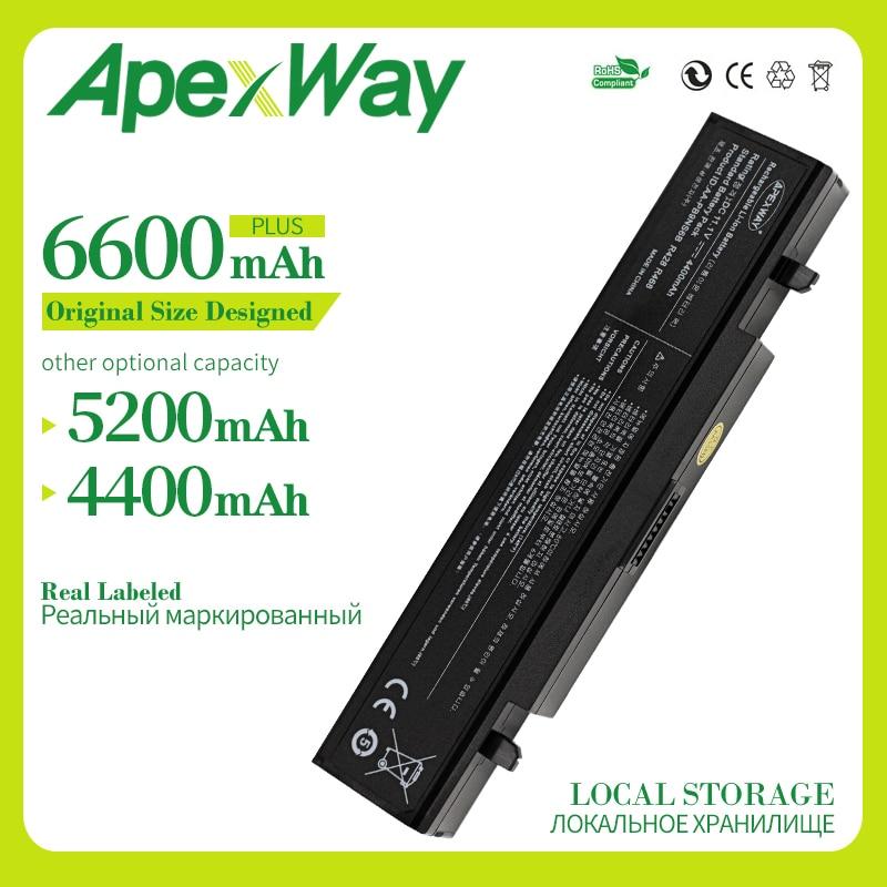 Apexway 11.1V RV520 Battery For Samsung AA-PB9NC6B AA-PB9NC5B AA-PB9NS6W NP300E5A RF511 R425 R519 R468 RV428 RC530 Np355v5c