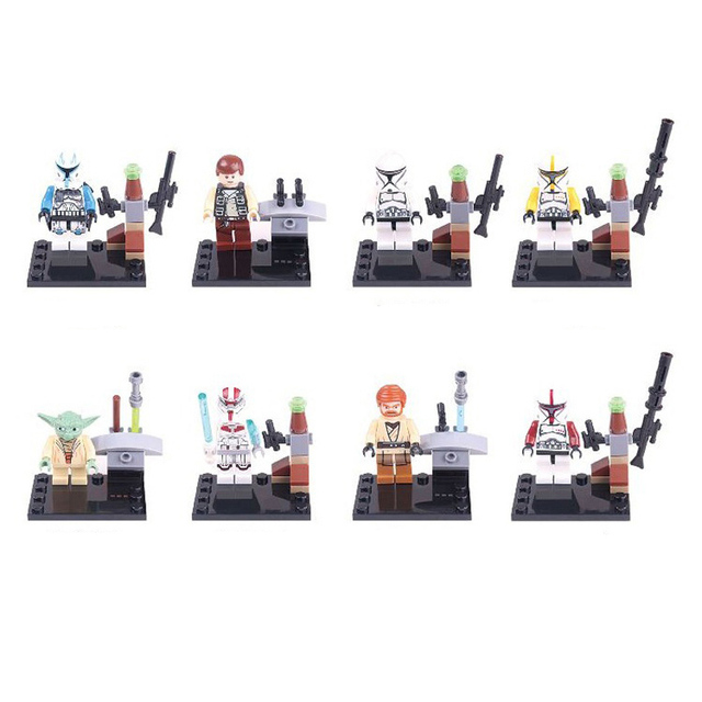 Star Wars The Force Awakens Mini Building Blocks Figures 6