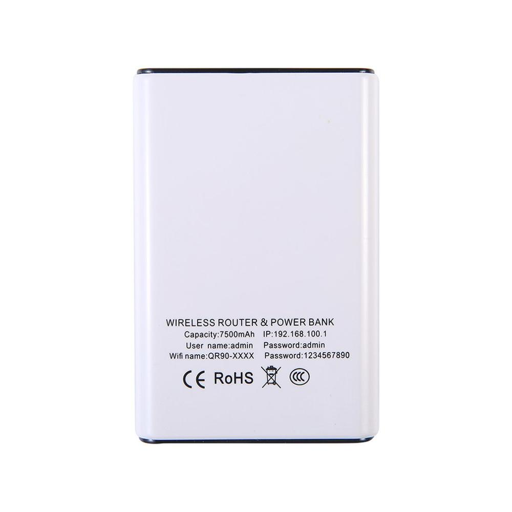 4G Wireless Router Portable Wifi Mobile Internet Card Charging Treasure Portable Mifi Universal Without Sim Card