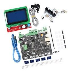 Zestawy drukarek 3D płyta główna Smoothieboard 5X V1.1 open source + wyświetlacz LCD 12864 + płyta adaptera GLCD płyta główna płyta główna w Części i akcesoria do drukarek 3D od Komputer i biuro na