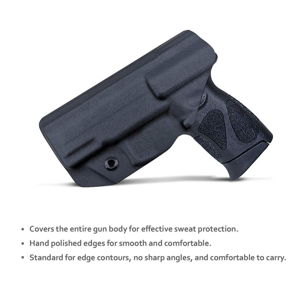 Tools : Kydex IWB Gun Holster For Taurus G3C  G2C   G2S   Millennium PT111 G2   PT140 9mm  40 Pistol - Inside Waistband Concealed Carry