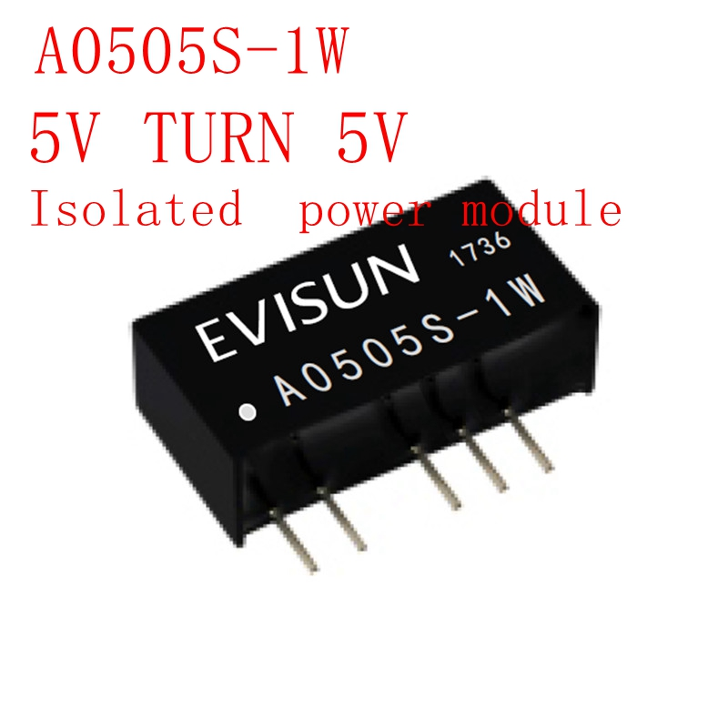 A0505S-1W 5V TURN 5V Isolated  Power Module