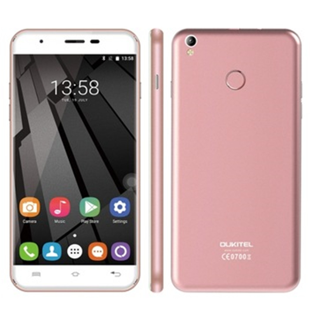 In Stock! OUKITEL U7 Plus 4G LTE Smartphone 2GB RAM 16GB ROM Android Fingerprint 8MP 5.5'' OTG Students Smart Mobile Cellphone