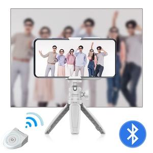 Image 5 - Ulanzi capgripワイヤレスbluetooth selfieブースター2で1ビデオフォト電話アダプタホルダーハンドルグリップスタンド三脚マウント