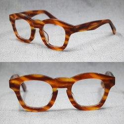 1960's Japan Handmade Italy Acetate Reading Glasses Full Rim Top Quality 50 75 100 125 150 175 200 225 250 275