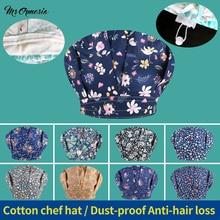 Hat Catering Working-Hats Chef-Cap Waitress-Wear Comfortable Restaurant Kitchen Cotton