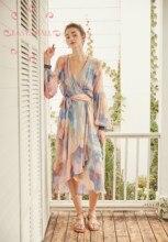 EASYSMALL Zimmer Frauen kleid Mode urlaub Bunte hohe-ende Beach party abendkleider streetwear Hohe Taille Kleider
