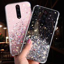 Bling Glitter Case For Xiaomi Mi CC9 CC9E 9T 9 SE 8 A3 A2 Lite Case For Xiaomi Redmi K20 7A 6 Note 8 7 5 Pro 4 4X Soft TPU Cover(China)