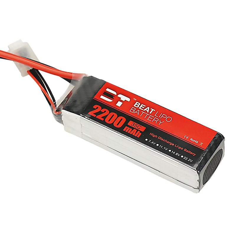 BT LIPO 2200mAh 2S/3S/4S/6S/22.2V/45C/ Battery for ALZRC 380 SAB 380  ALIGN 470L