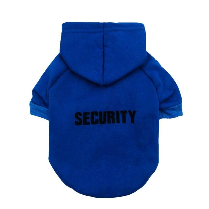 Security Dog Cat Clothes Pet Cat Coats Jacket Hoodies For Cats Dog Outfit Warm Pet Clothing Rabbit Animals Pet Sweatshirt 15
