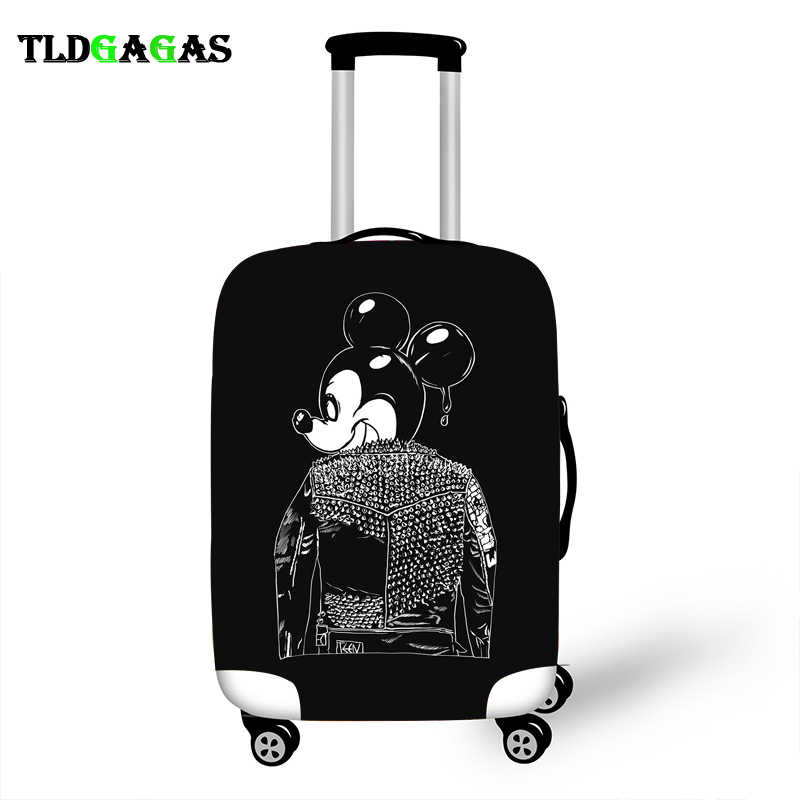 Elastic Luggage Protective Cover Case For Suitcase Protective Cover Trolley Cases Covers Xl Travel Accessories Cool Mickey Case