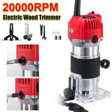 2300W 20000Rpm Holz Elektrische Trimmer 110V/220V Holz Laminat Palm Router Elektrische Hand Trimmer Rand pvc-h-streifen schreiner Holzbearbeitung Werkzeug EU