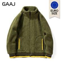 الاتحاد الأوروبي الولايات المتحدة حجم الضأن أفخم الرجال السترات Antumn ثياب الشتاء بقلنسوة سترة معطف مصمم الازياء أبلى الهيب هوب رجالي هوديس 2XL