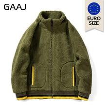EU US Size Lamb Plush Men Jackets Antumn Winter Hoodie  Jacket Coat Fashion Designer Outwear Hip Hop Mens Hoodies 2XL
