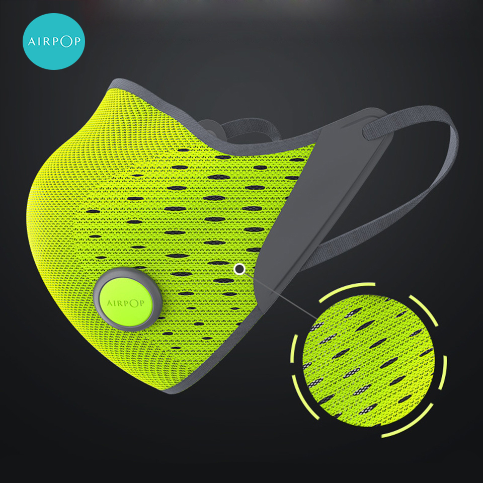 Fast Shipping AirPOP Masks Dustproof Anti-fog Haze Anti-pollution Masks PM2.5 Breathable Sports Cycling Winter Mask Free Ship
