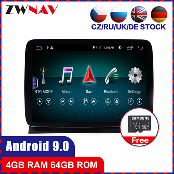 HD screen 4+64 Android 10.0 Car multimedia Player for Mercedes Benz ML GL 2012 2013 2014 2015 gps navi Radio stereo BT hean unit