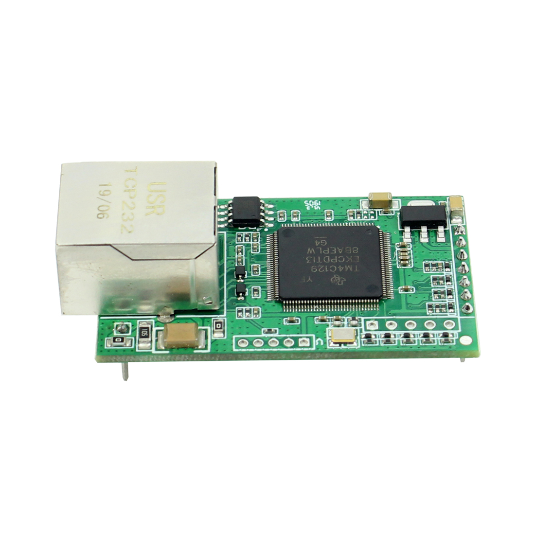 1 piece USR-TCP232-E2 Pin Type Serial UART TTL to LAN Ethernet Module 2 serial ports 4