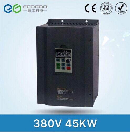 VFD Inversor de Freqüência-Free Shipping-45KW 45KW/Hz a 60 50 Hz Freqüência Conversor/unidade AC/Motor controlador de velocidade