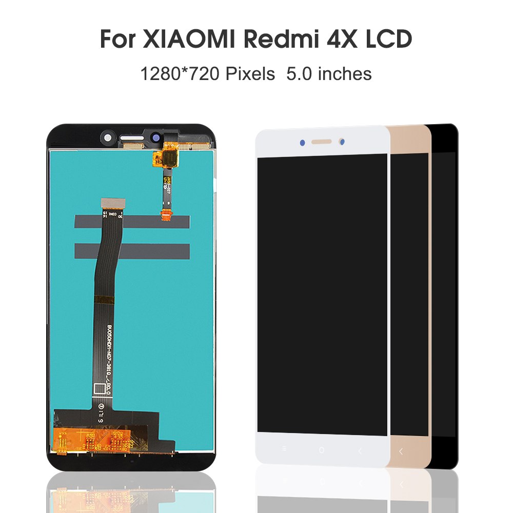 AAA Quality For Xiaomi Redmi 4X LCD Display Touch Screen Digitizer Assembly With Frame For Xiaomi Redmi 4X Pro Prime 5.0 Inches