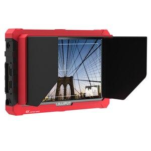 Image 5 - ליליפוט A7S 7 אינץ 1920x1200 HD IPS מסך 500cd/m2 מצלמה שדה צג 4K HDMI קלט פלט וידאו עבור DSLR ראי מצלמה