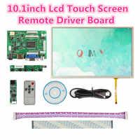 Envío Gratis 10,1 Ips Voor Raspberry Pi Monitor 1280*800 Tft EJ101IA-01G Lcd táctil Hd pantalla remota Placa de controlador HDMI 2AV VGA