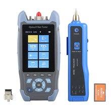 NOVKER OTDR 1310/1550nm handheld smart mini pro multifunction OTDR High quality stable hot original OTDR 24DB NK3200D