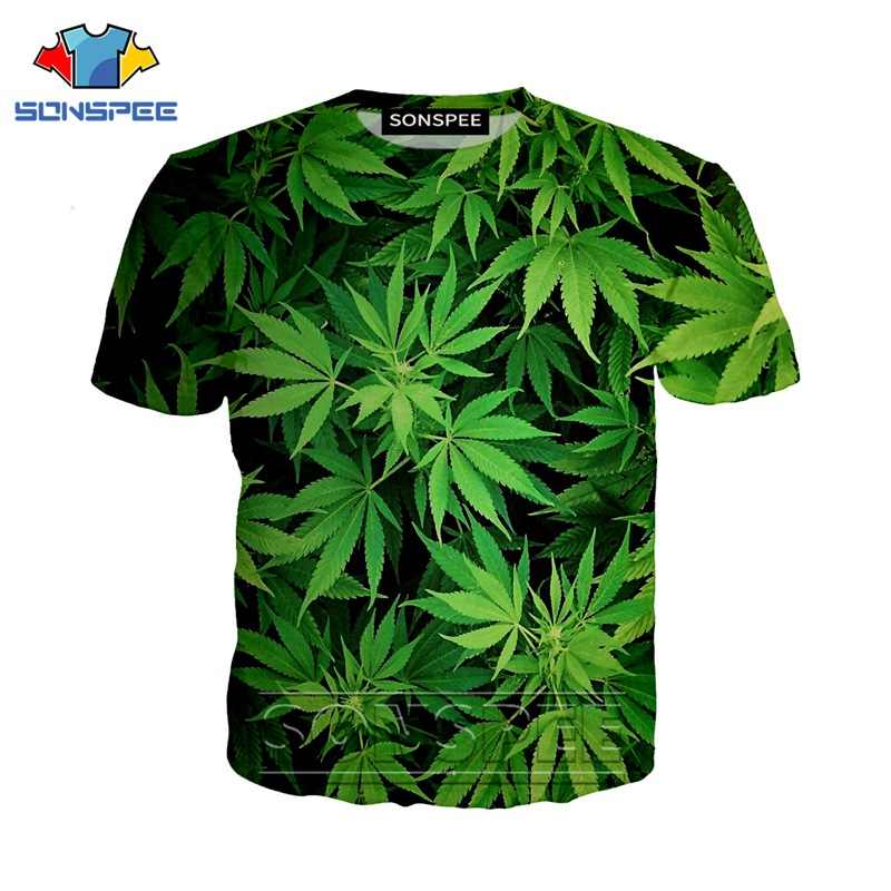 Anime 3d print game t shirt Maple leaf streetwear weed plant men Women fashion t-shirt Harajuku kids shirts homme tshirt A210