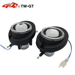 BSSPHL Car-Styling driving light HD 2.0 Bi-xenon fog light lens fit for HONDA ACCORD / SPIRIOR / CR-V / FIT / JAZZ / Active plus