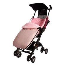 Зимний теплый для детской коляски спальный мешок утолщенная ветрозащитная коляска для малыша муфта для ног морозостойкий спальный мешок для малыша детский спальный мешок