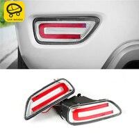 CARMANGO für Nissan Patrol Y62 Auto Styling Hinten Nebel Licht Lampe LED Licht Montage Außen Auto Ersatz Teile