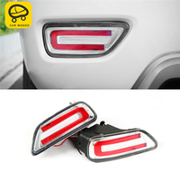 CARMANGO for Nissan Patrol Y62 Car Styling Rear Fog Light Lamp LED Light Assembly Exterior Auto Replacement Parts