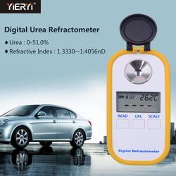 Yieryi DR602 refraktometr cyfrowy miernik stężenia mocznika pojazdu mocznik 0 ~ 51% współczynnik załamania światła 1.3330 ~ 1.4056nD w Refraktometry od Narzędzia na