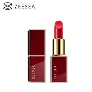 ZEESEA 12 Colors Professional Matt Velvet Lipstick Waterproof Long Lasting Lip Stick Easy To Wear Pigmented Cosmetics Makeup