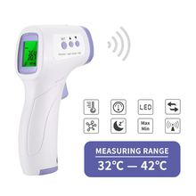 Infrared-Thermometer Forehead Laser-Body-Temperature Digital Ir-Ear-Fever Baby Adult