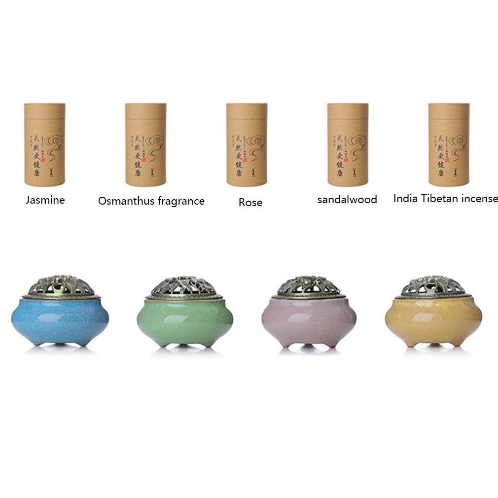 Indoor Natural Holder Handmade Censer For Buddhist Home Office Decoration