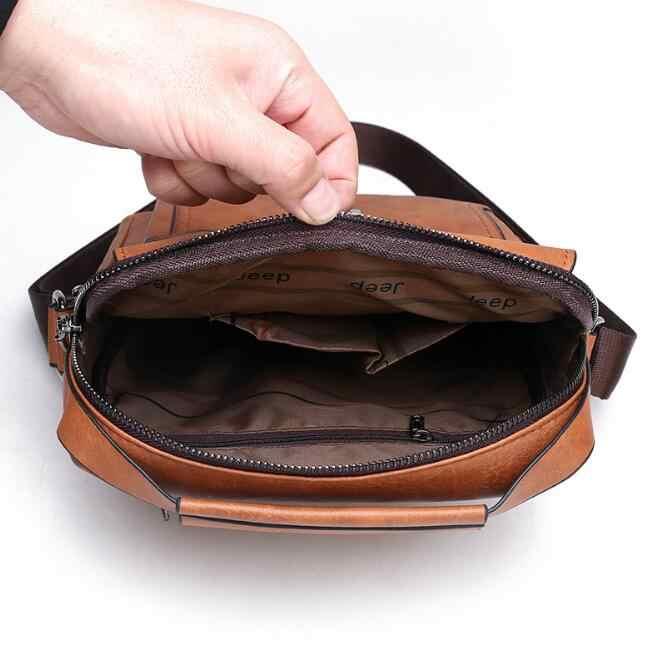 Messenger Bag Mannen Tas Mode Zakelijke Schoudertas Kleine Vierkante Tas Mannen Handtas