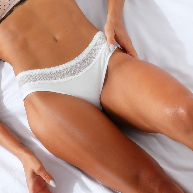 Women Underwear Lingerie Sexy cotton   Panties   for Women String Thongs Solid Seamless G-String Briefs   Panty   Underwear Dropship