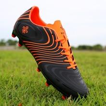 Наружная футбольная обувь для ногтей, Мужская футбольная обувь, детские футбольные бутсы, женские уличные тренировочные футбольные бутсы, Нескользящие