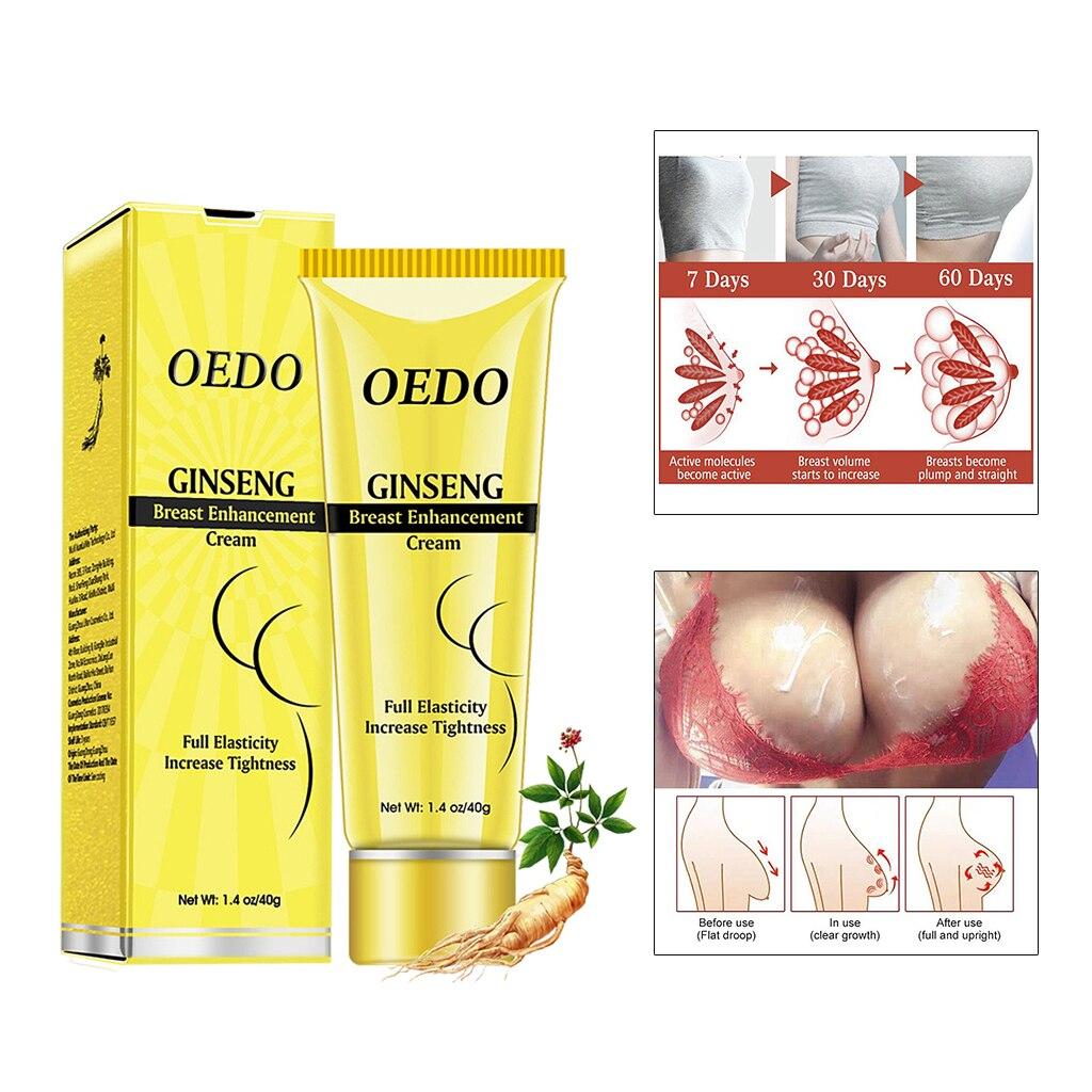 OEDO crème dagrandissement des seins taille haute crème efficace damélioration des seins buste croissance rapide seins raffermissement soins de la poitrine Massage des seins