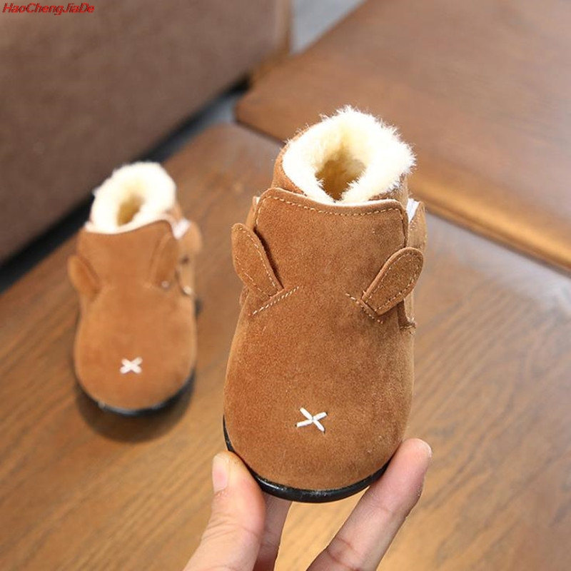 Winter Infant Newborn Toddler Boots Baby Girl Boy Snow Boots Warm Thicken Plush Kids Child Boots Soft Bottom Non slip Shoes|Boots| |  - title=